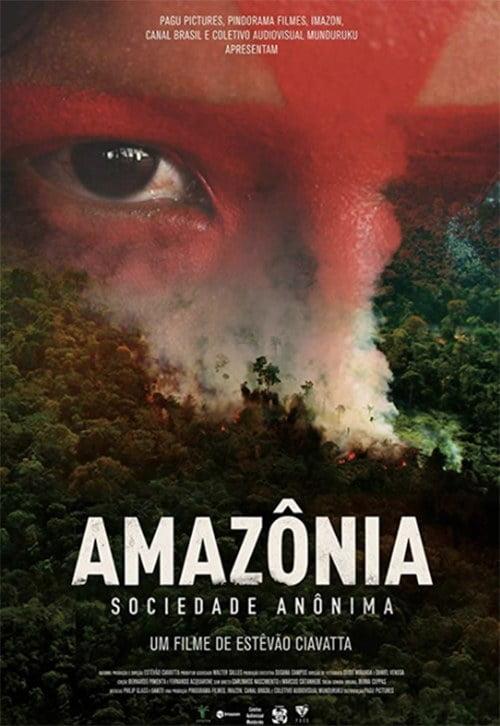 imagem da capa do documentário Amazônia Sociedade Anônima