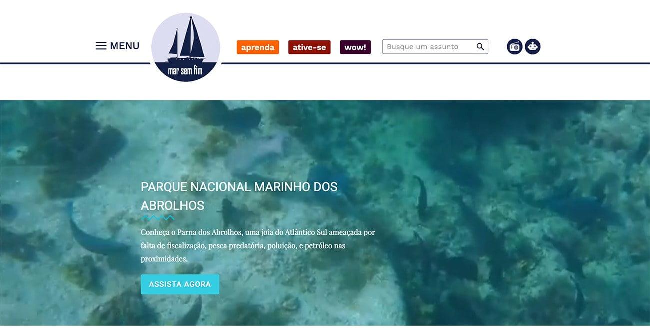 imagem do site Mar Sem Fim