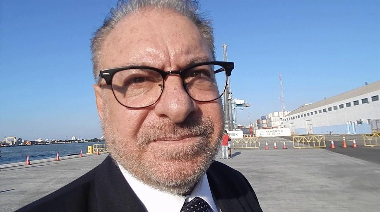 Imagem do prefeito de Itajaí, Volnei Morastoni do MDB