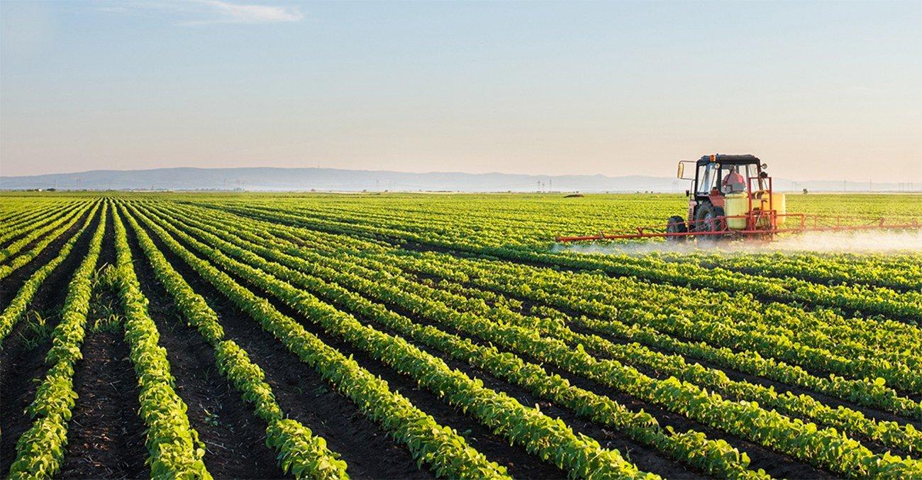 imagem de agricultura moderna no campo