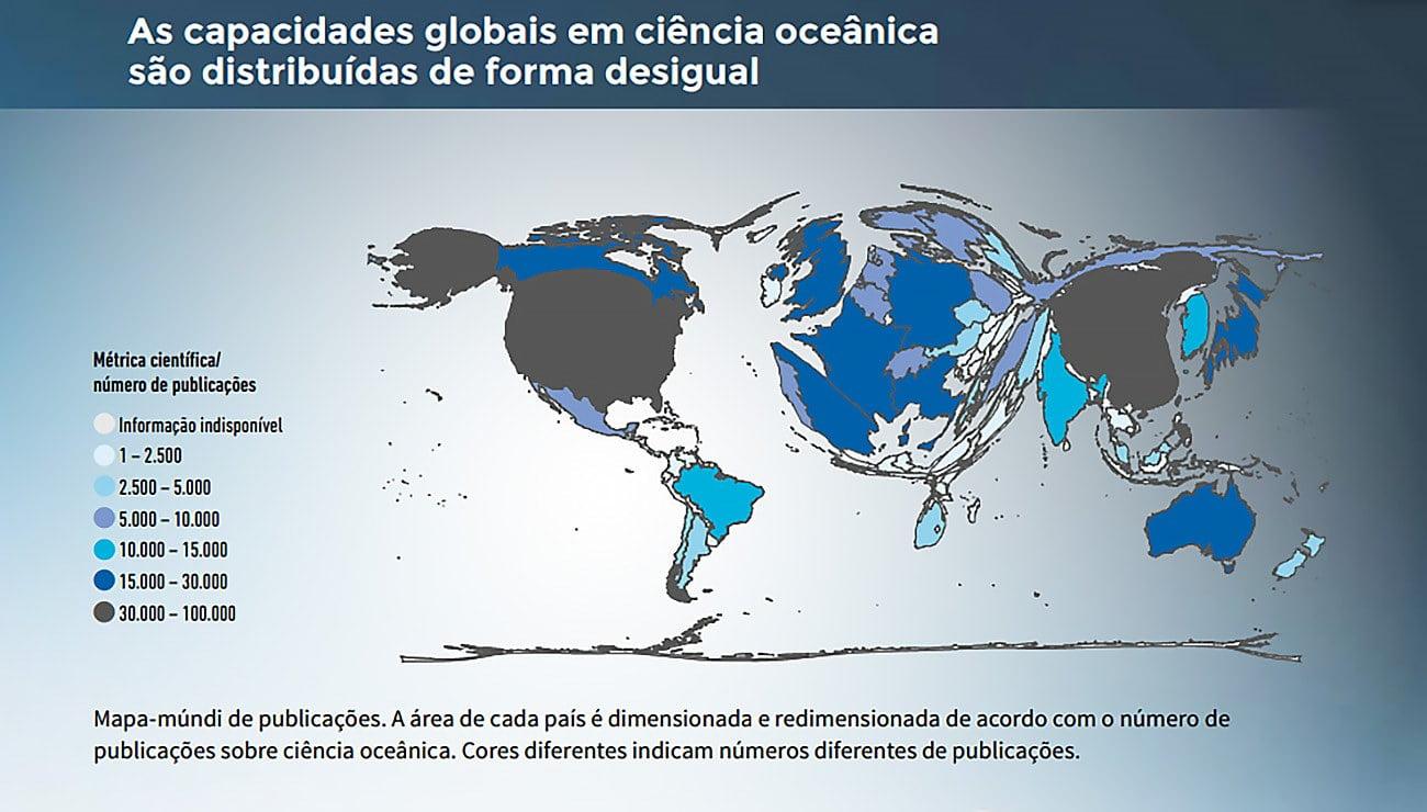 cartaz alusivo à Decada dos Oceanos, da ONU