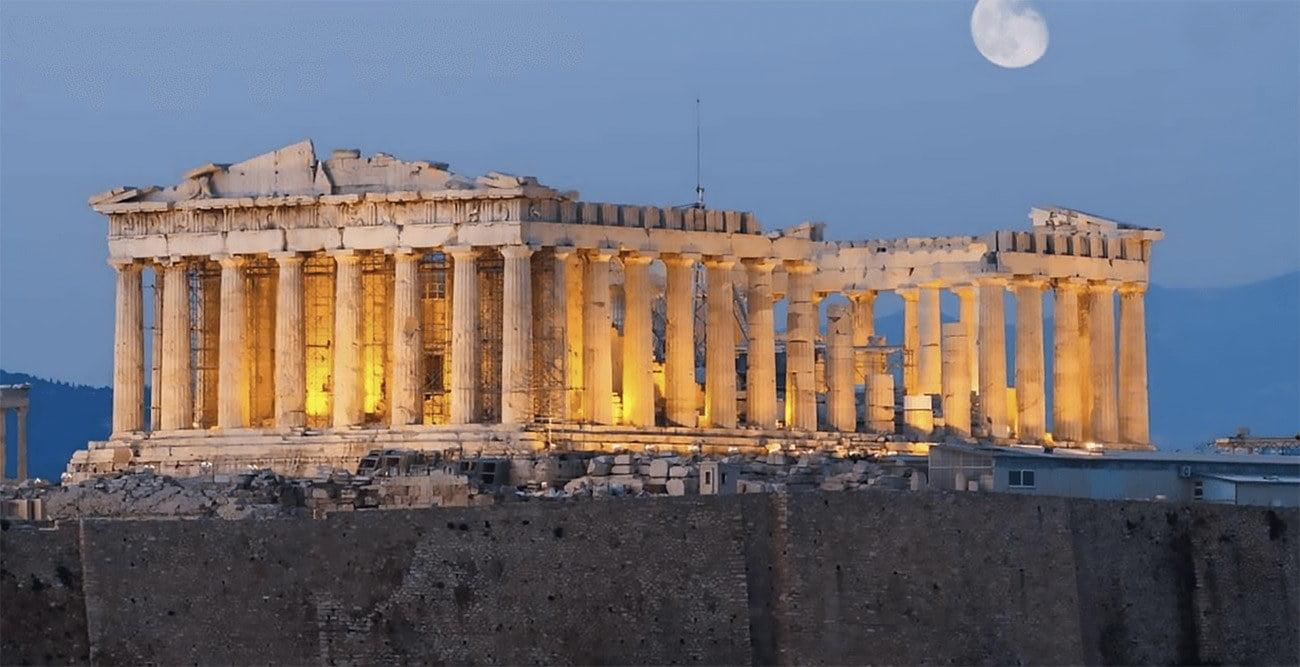 Imagem do Paternon, Grécia
