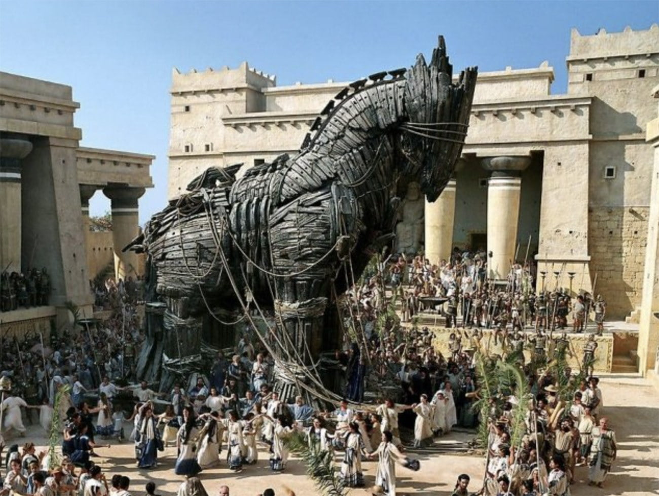Imagem de cavala de Tróia