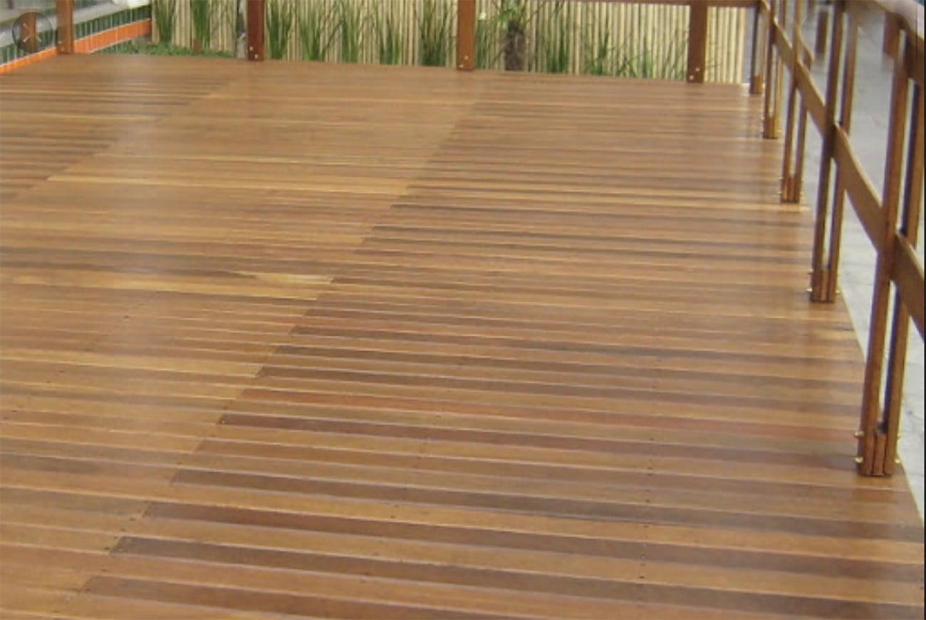 Imagem de decô feito comedeira de itaúba, árvores ameaçada de extinção