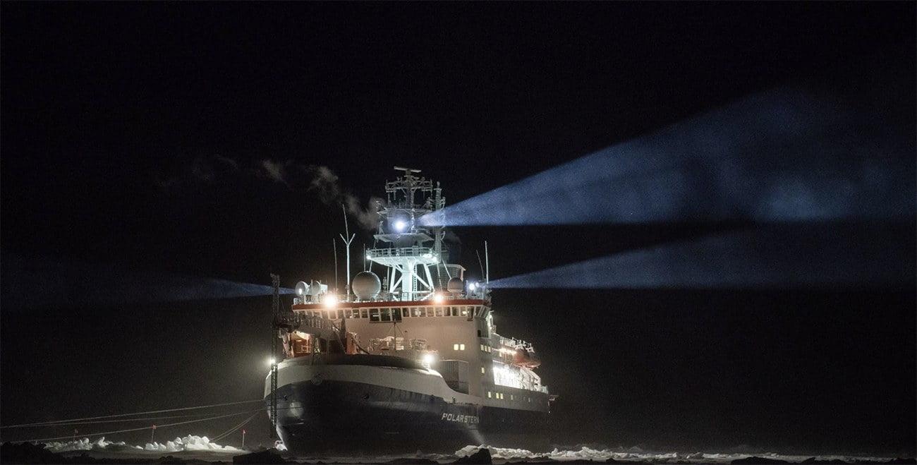 imagem do navio Polarstern
