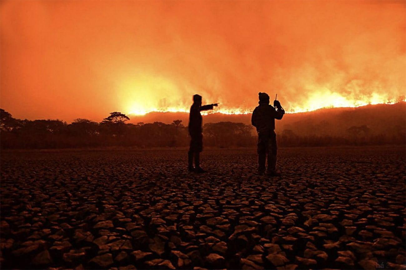 imagem de queimadas