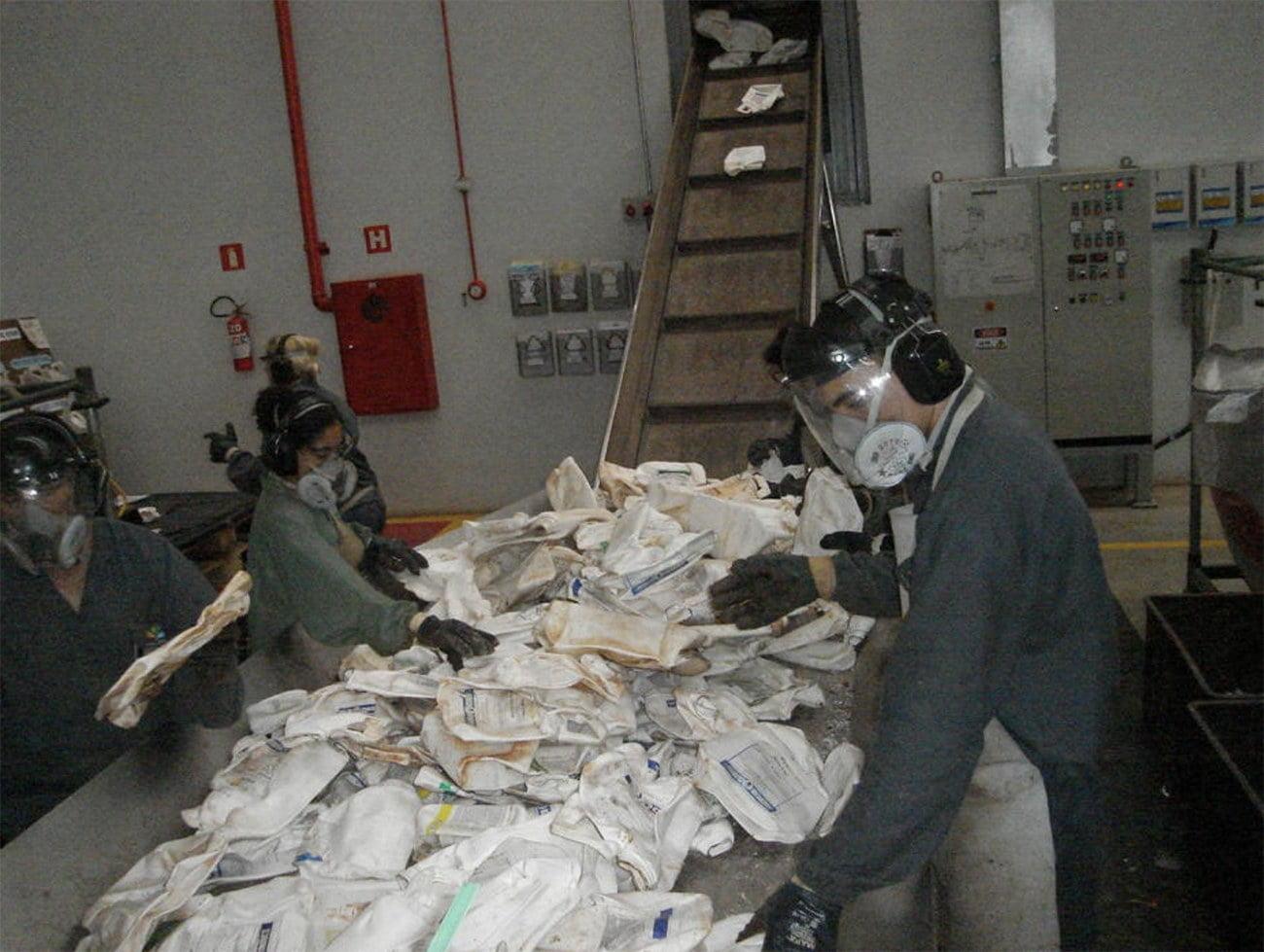 imagem de Reciclagem de embalagens de agrotóxicos