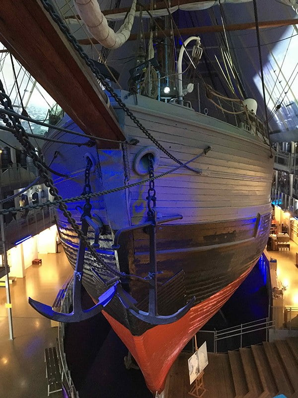 imagem do barco FRAM