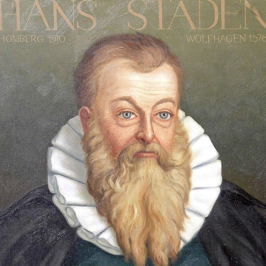 Desenho de Hans Staden