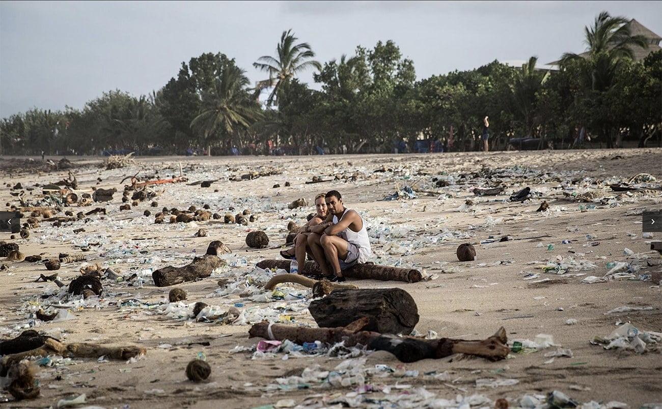 imagem de praia de Bali