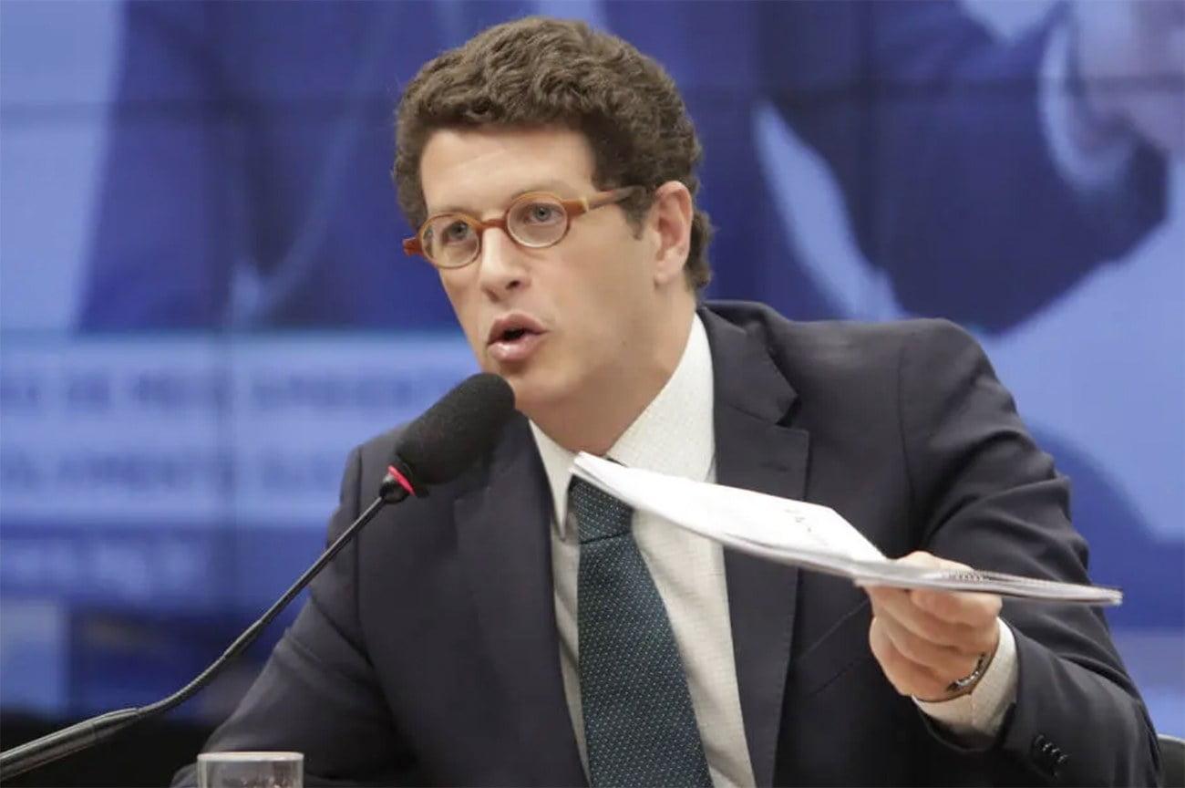 imagem do 'ministro' Ricardo Salles