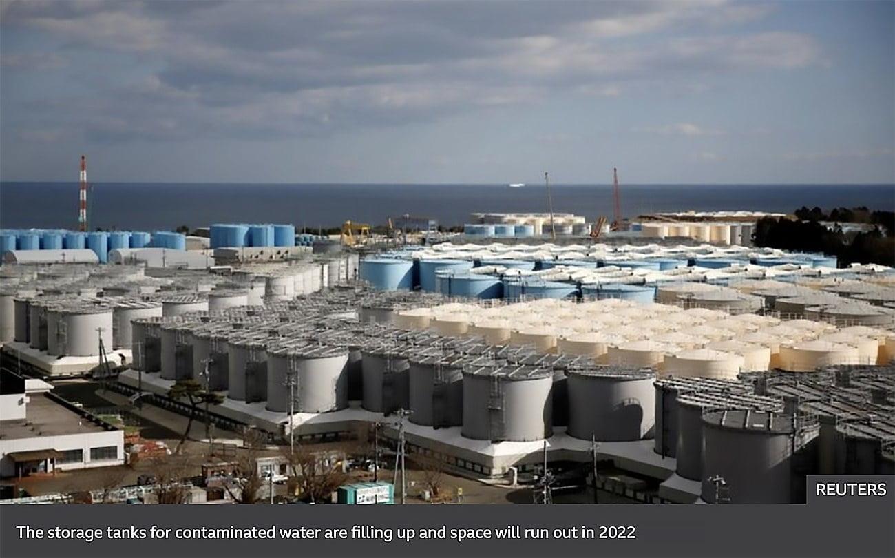 imagem de Taques de magia contimandê da usina nuclear de Fukushima