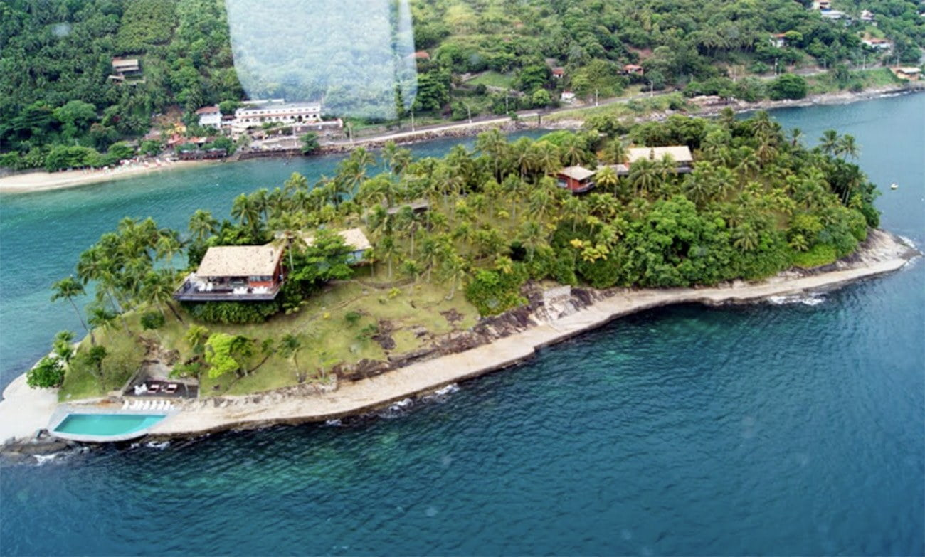 Imagem de ilha das Cabras, Ilhabela