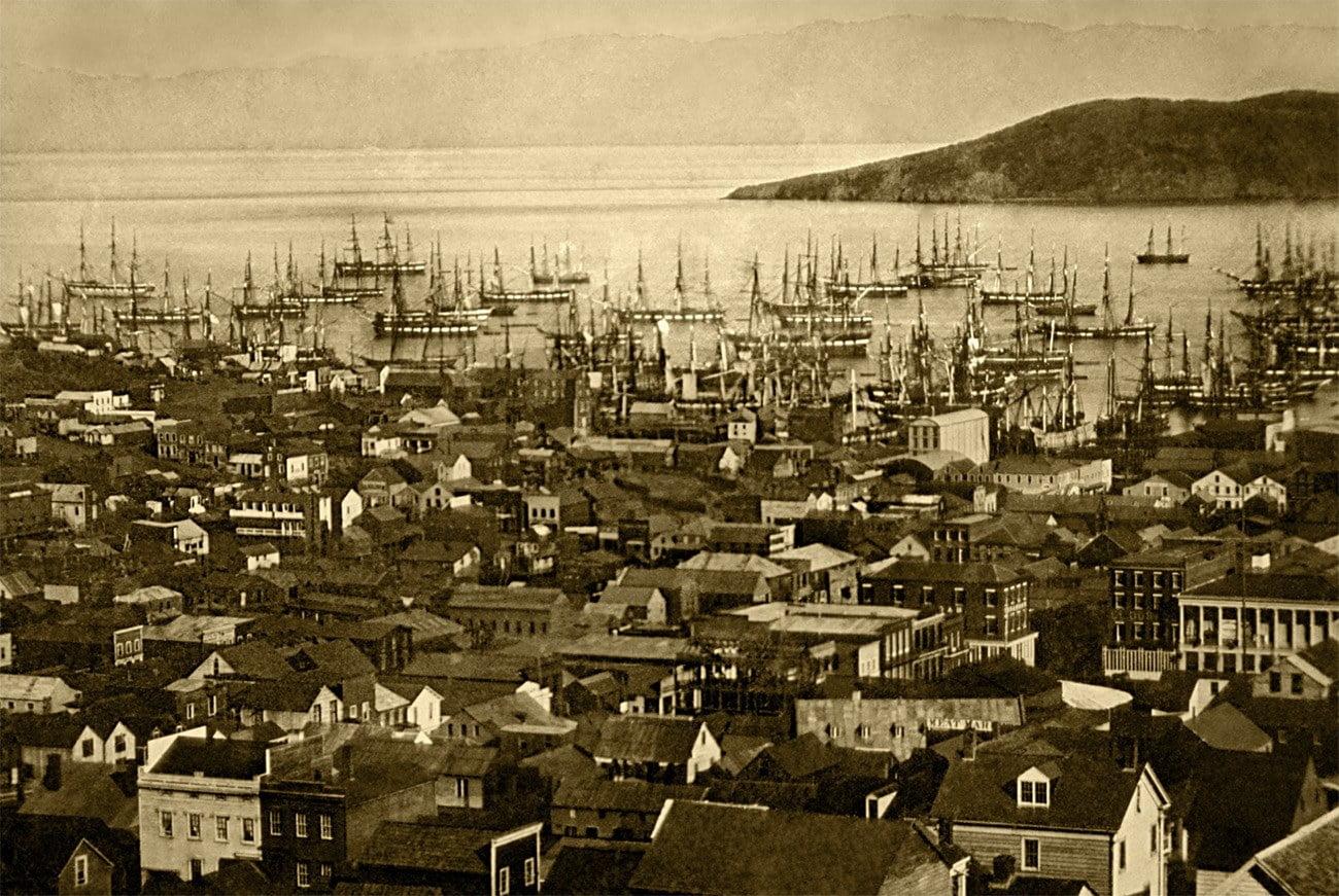 Imagem de São Francisco em 1851
