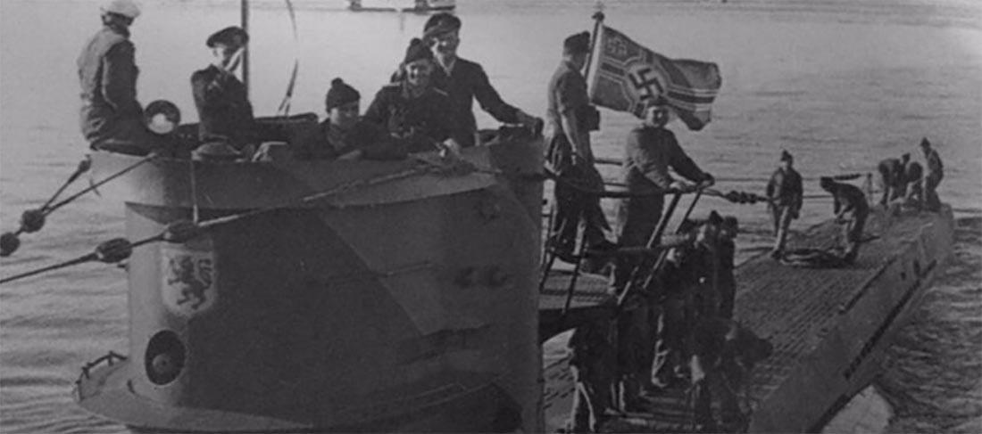 Imagem de U-boot na superfície