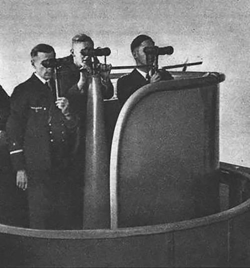 imagem da torre de um U-boot