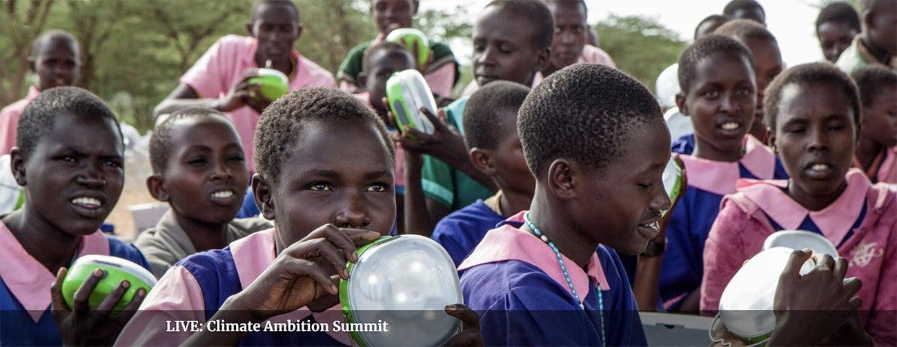 Imagem de africanos em cartas sobre Aquecimento global, ONU pede emergência climática
