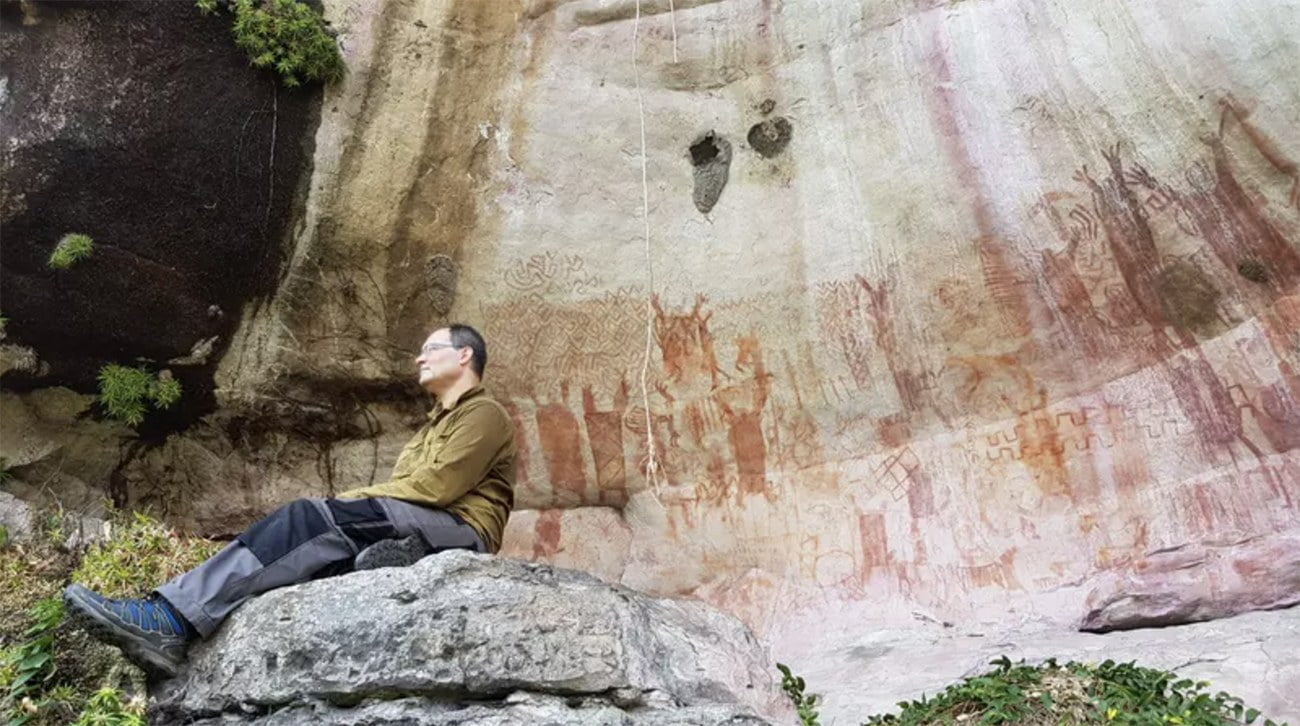 imagem de Arte rupestre na Amazônia