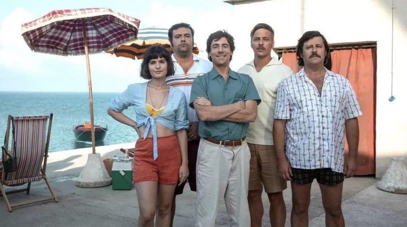 Imagem dos atores do filme A Ilha das Rosas