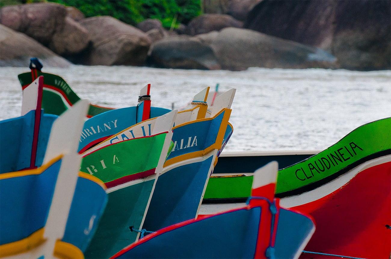 imagem de canoas do Bonete
