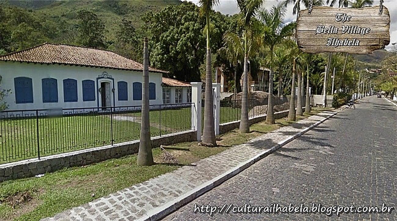 Imagem da Casa da princesa, em Ilhabela