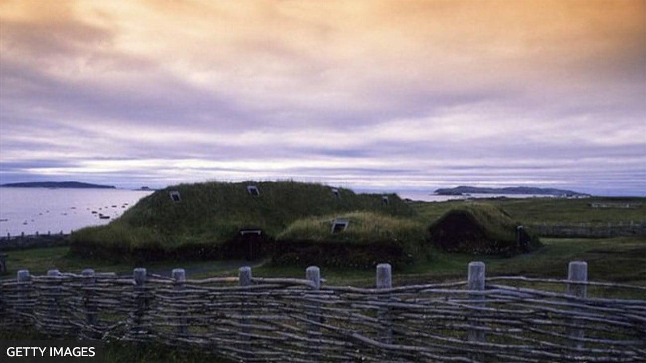 Imagem de casas Vikings