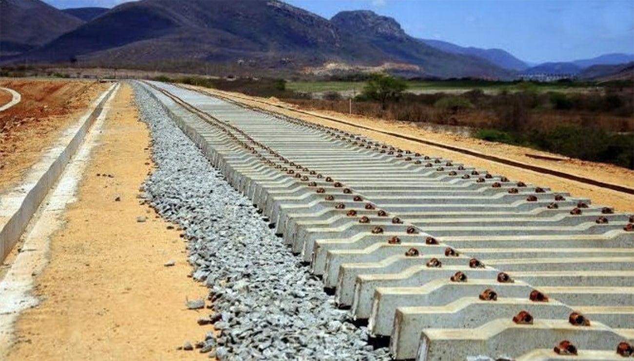 imagem de ferrovia