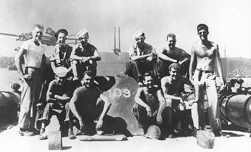 imagem de Kennedy na lancha PT-109