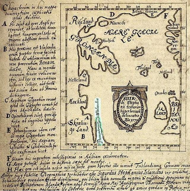 mapa Viking de 1570