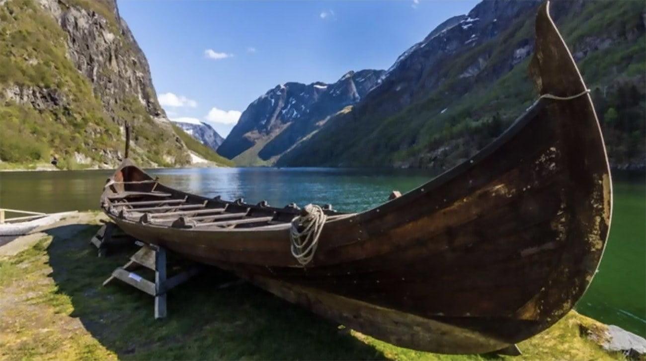Imagem de navio viking