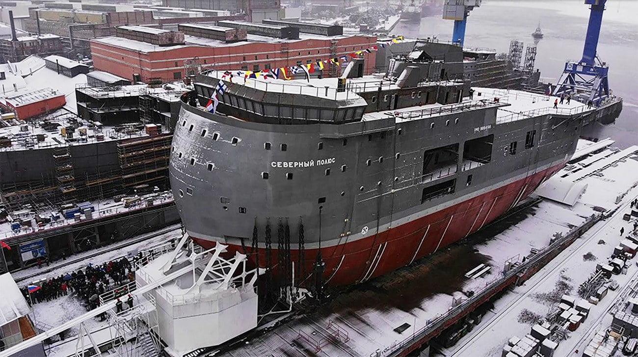 Imagem do navio polar russo