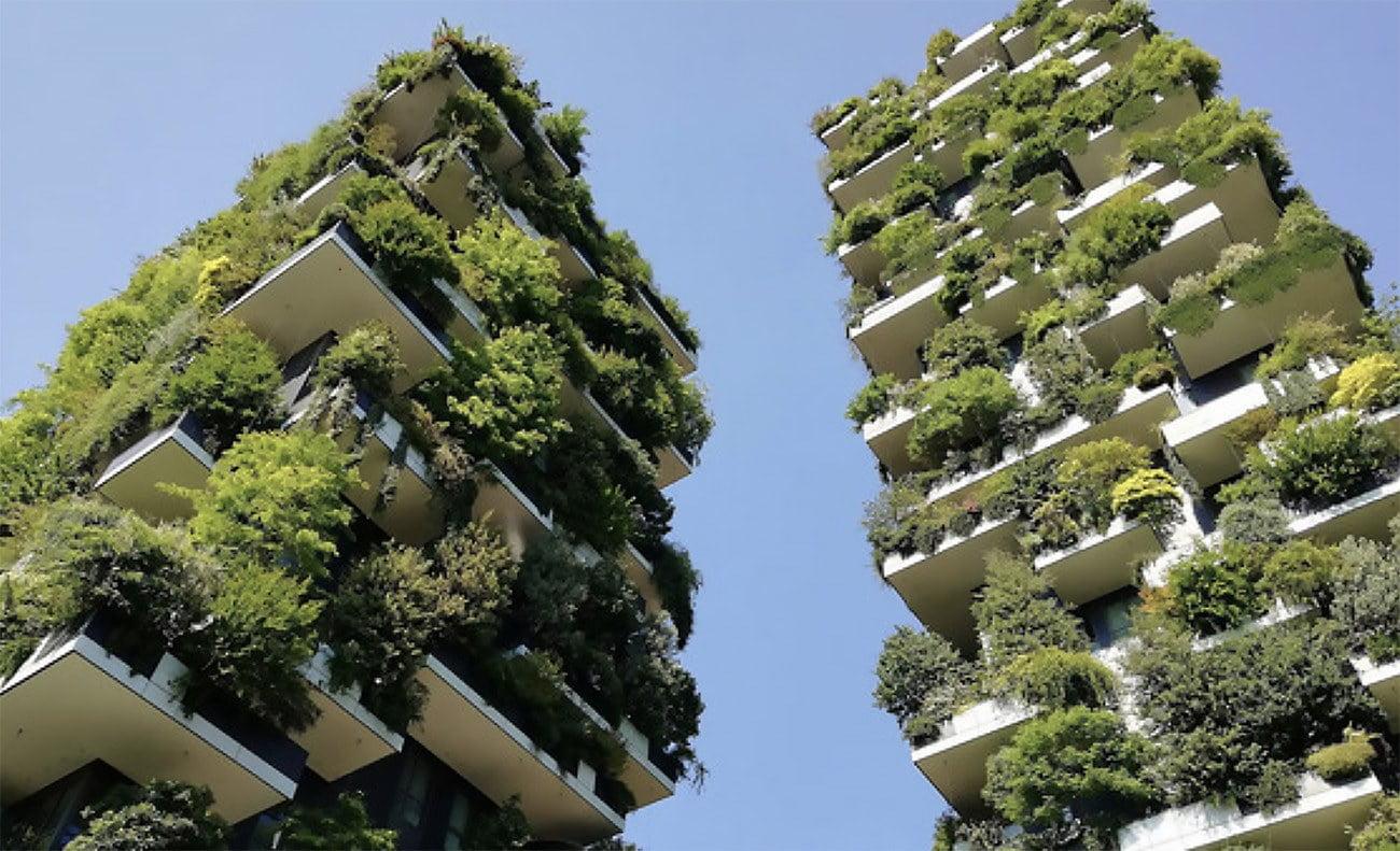 Imagem de prédio Verde