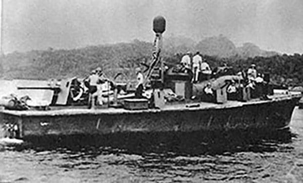 imagem da lancha PT-59