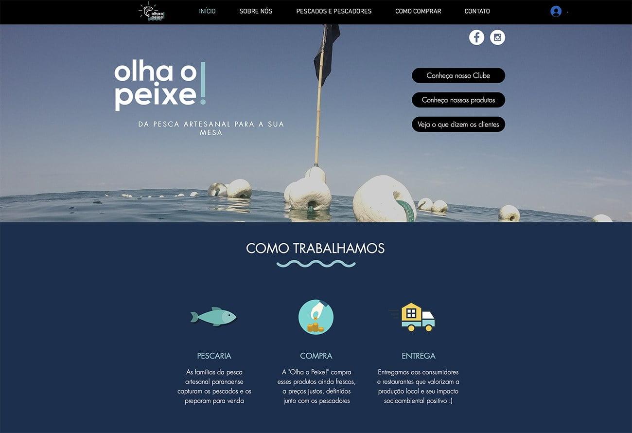 Imagem do site Olha o peixe