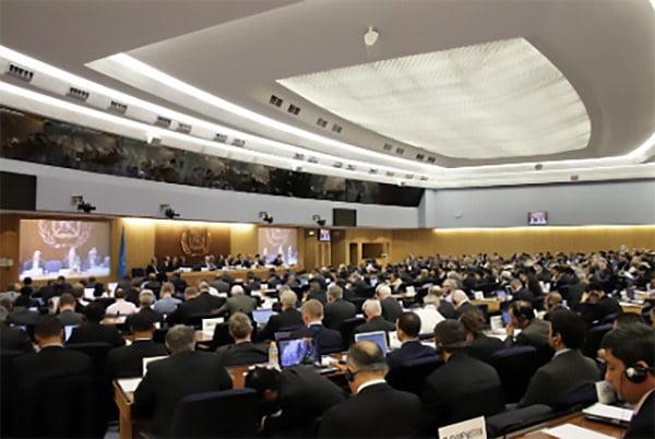 seção plenária da IMO em votação pelo combustível VLSFO