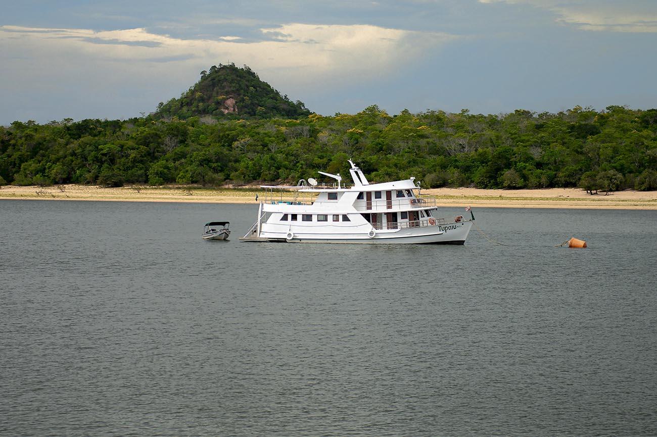 barco no Tapajós