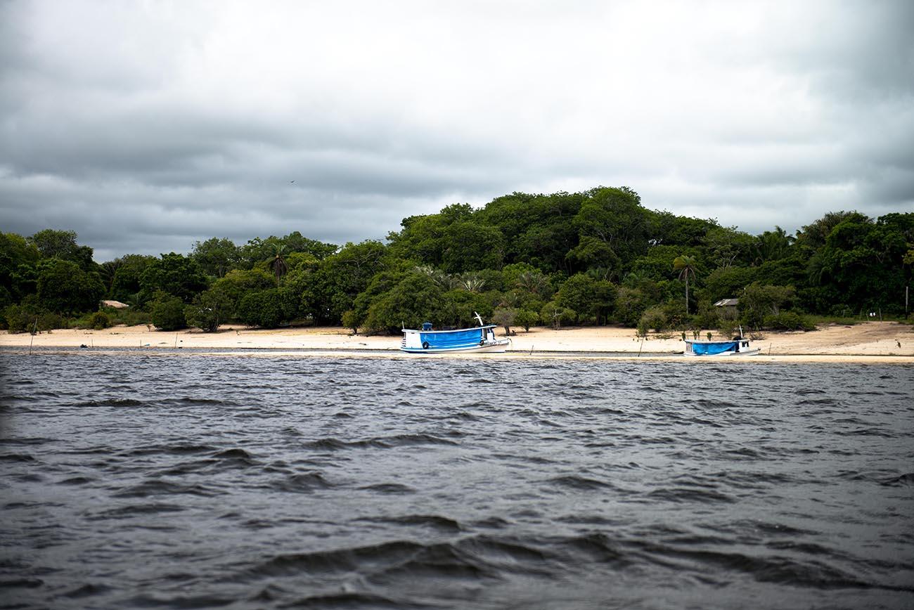 Imagem de comunidade no tapajós