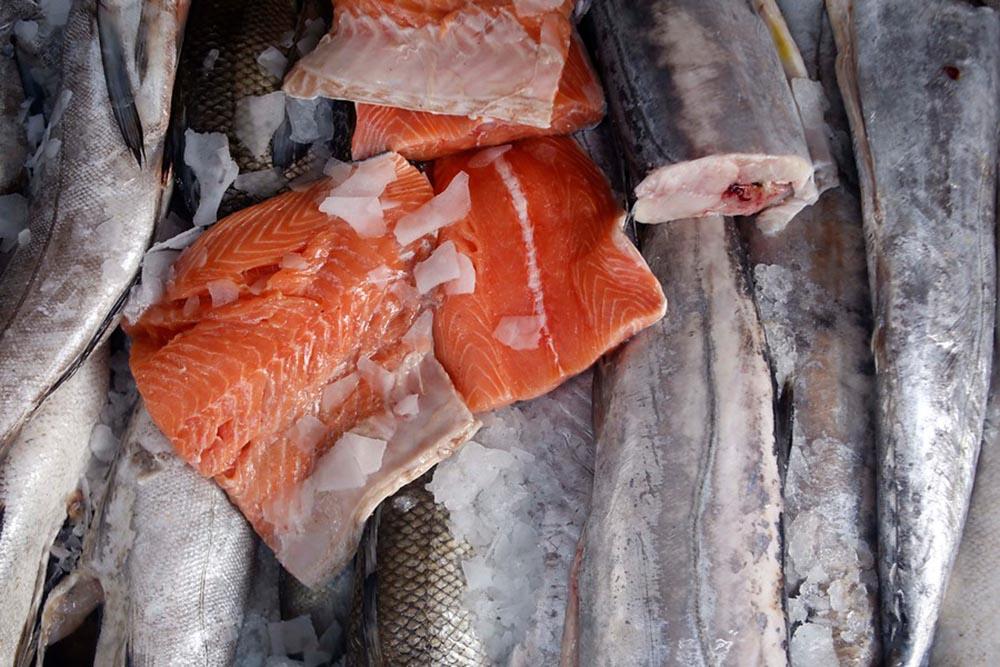 Imagem de carne de salmão