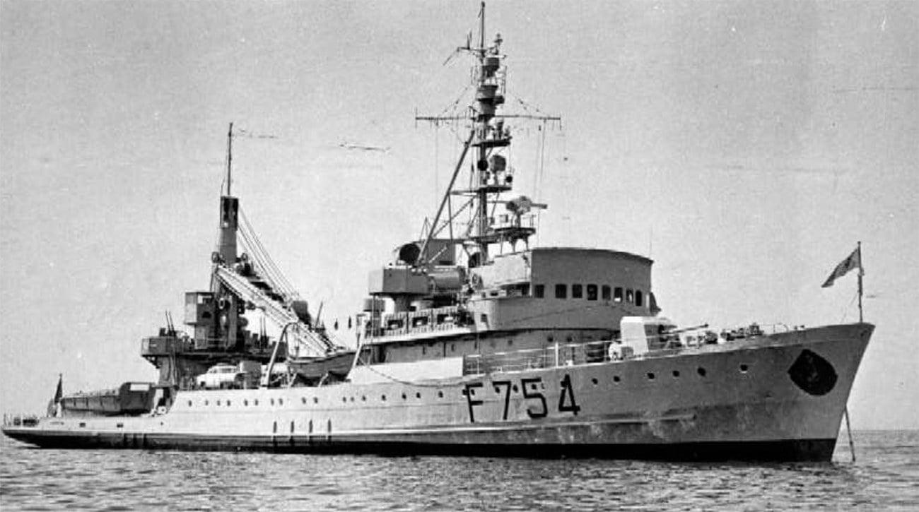 Imagem do navio Paul Goffeny