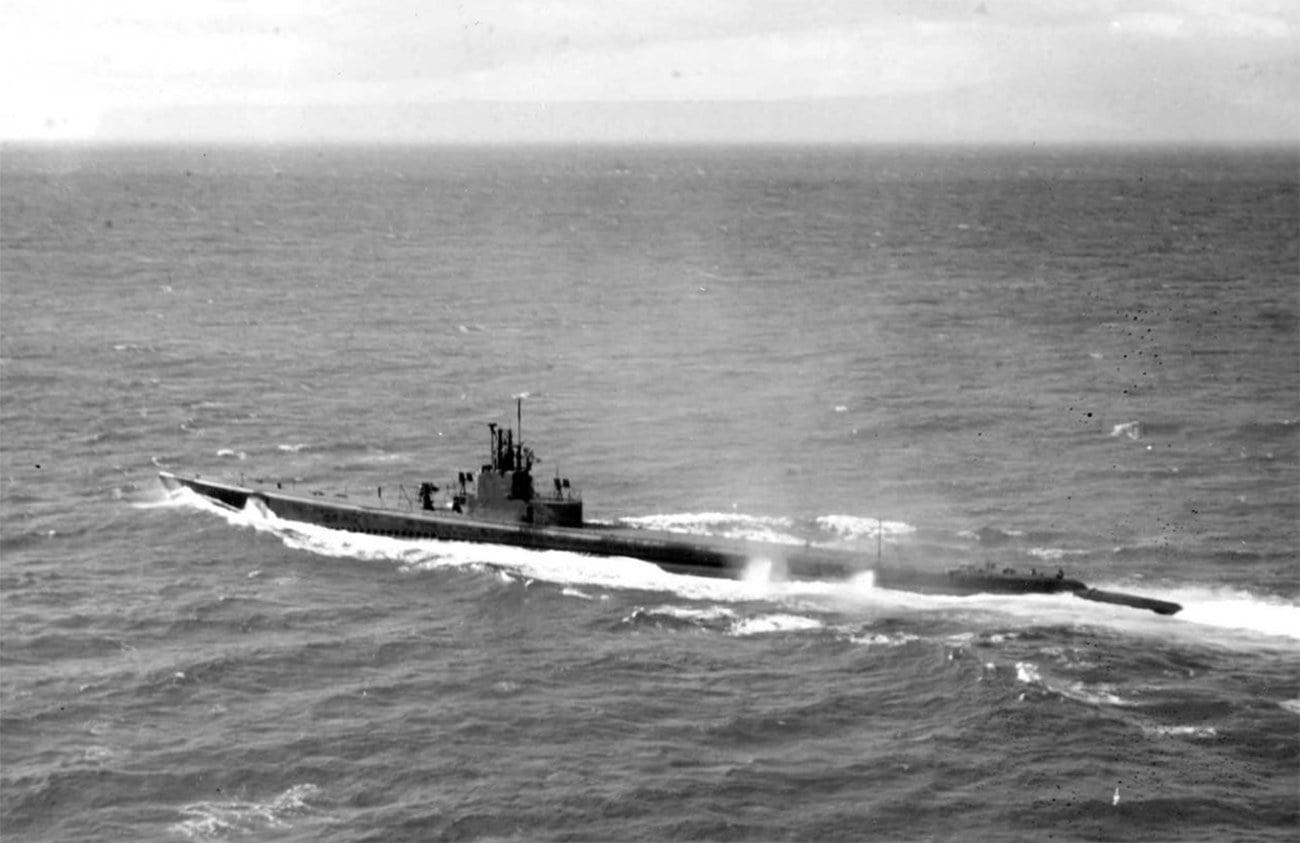 Imagem do submarino Riachuelo