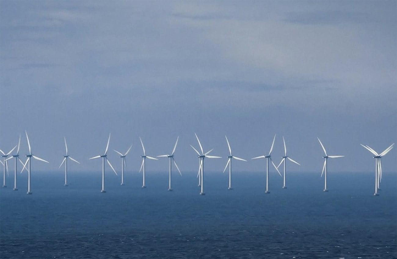 Usinas eólicas no mar