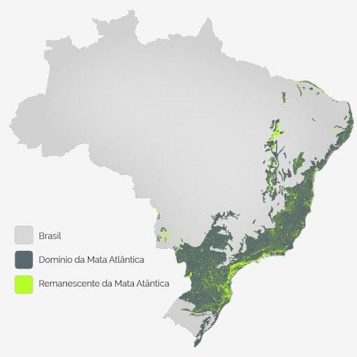 Imagem de mapa do Brasil