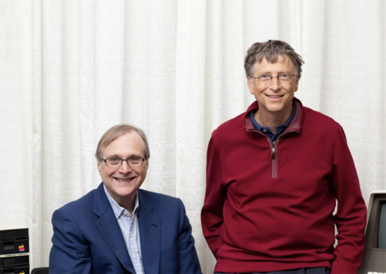 Imagem de Paul Allen e Bill Gates