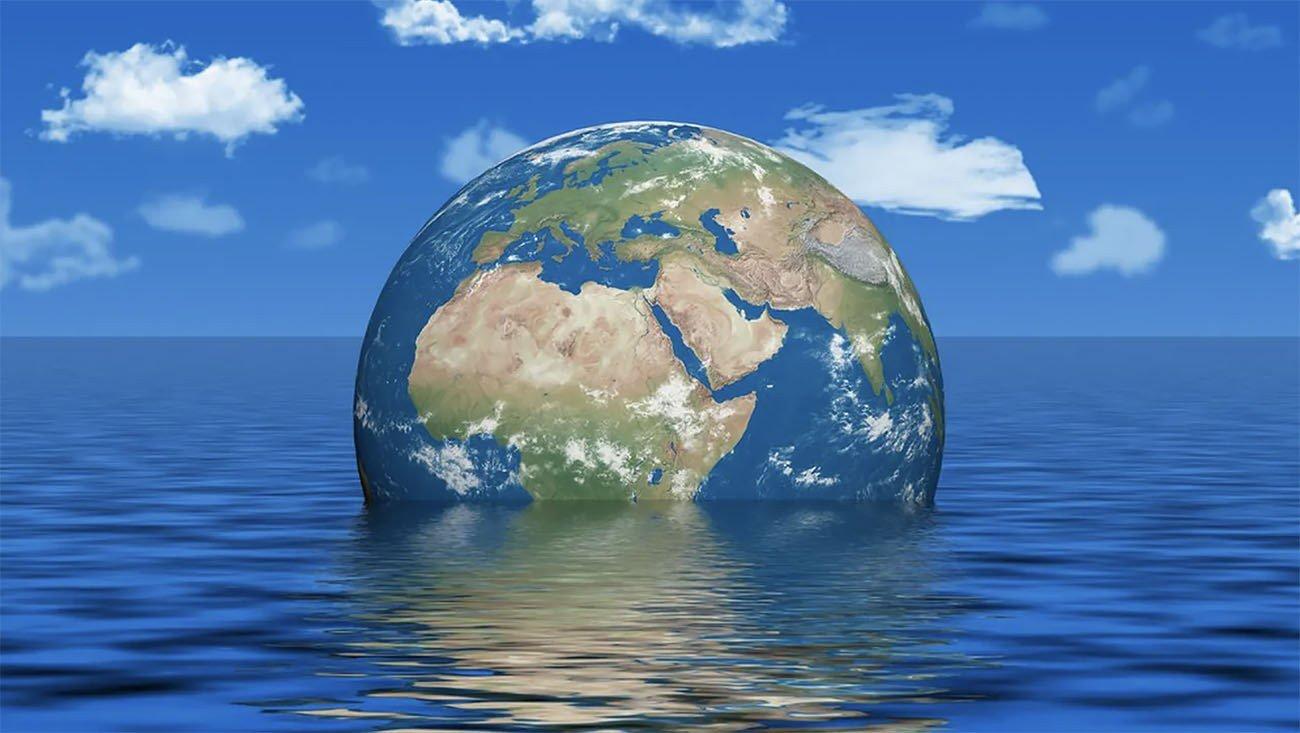 Ilustração referente ao aquecimento global