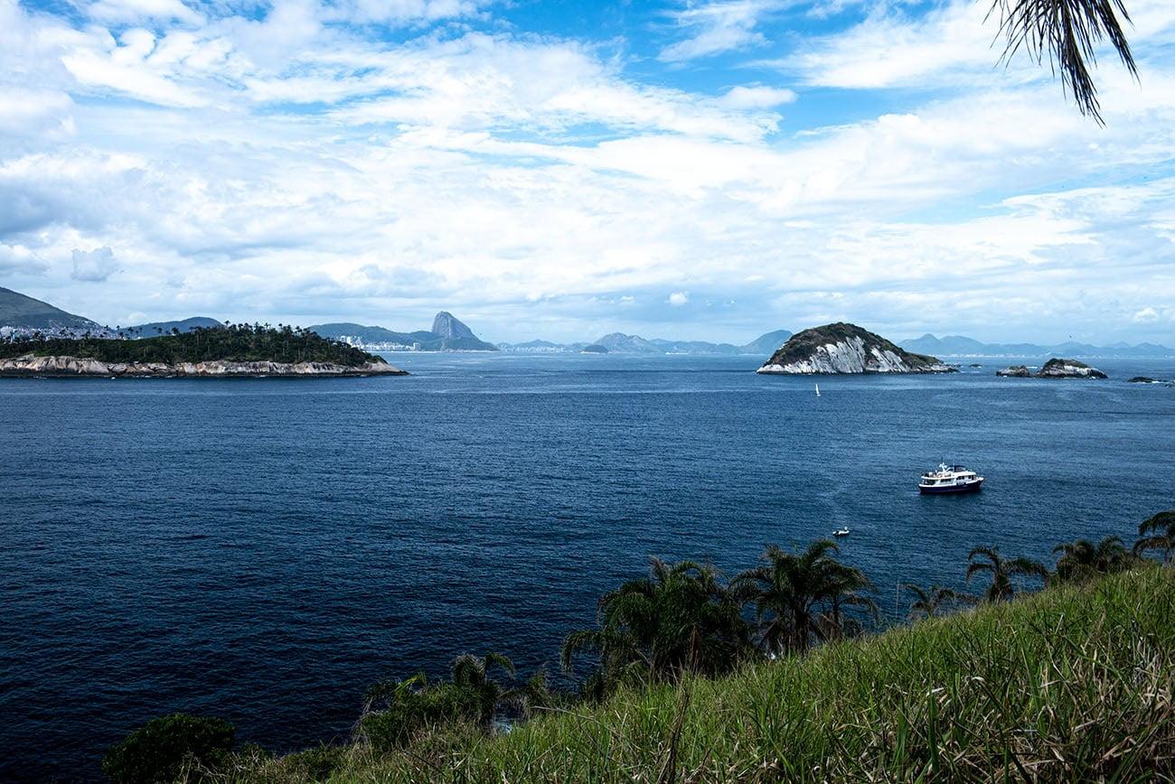 Imagem das Ilhas Cagarras, RJ