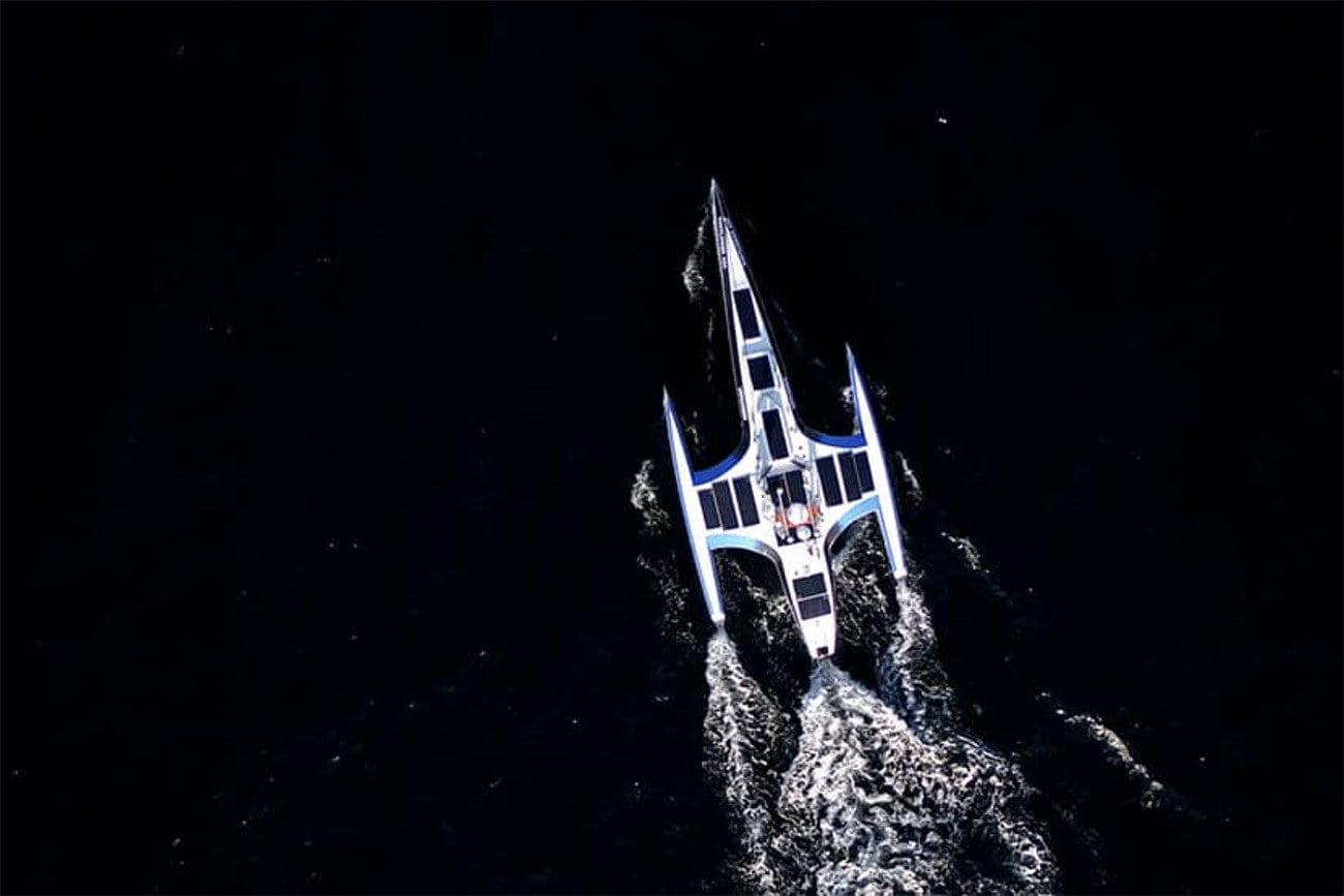 Imagem de Primeiro barco autônomo