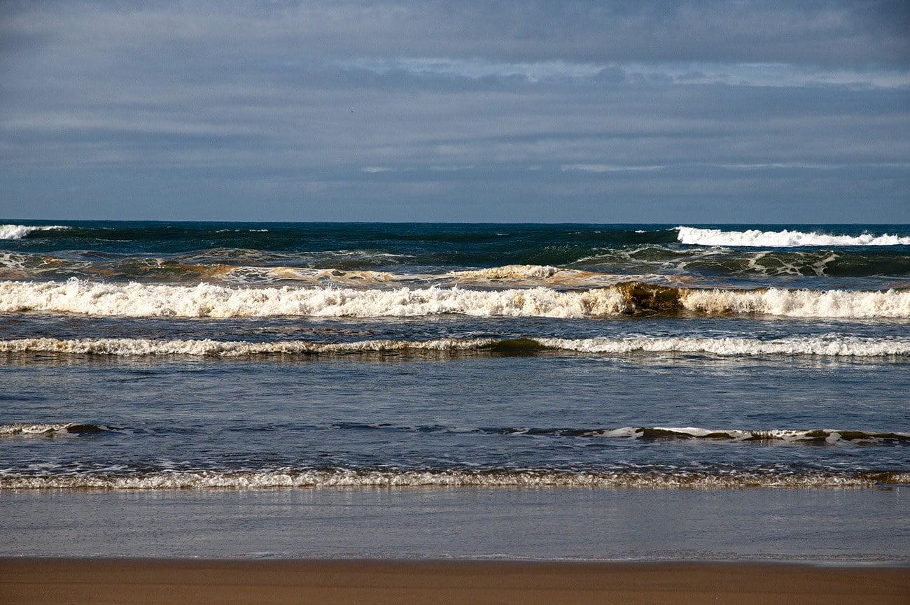 Imagem mostrador do mar marrom