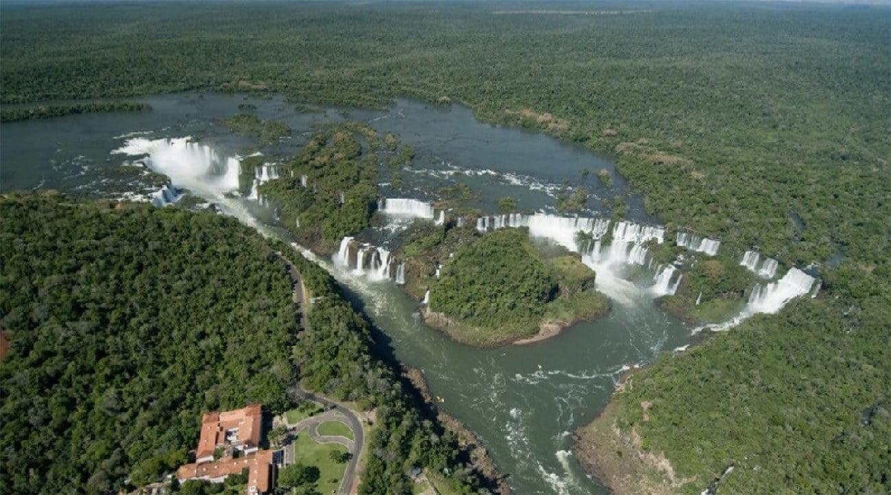 Imagem do Parque nacional do Iguaçu