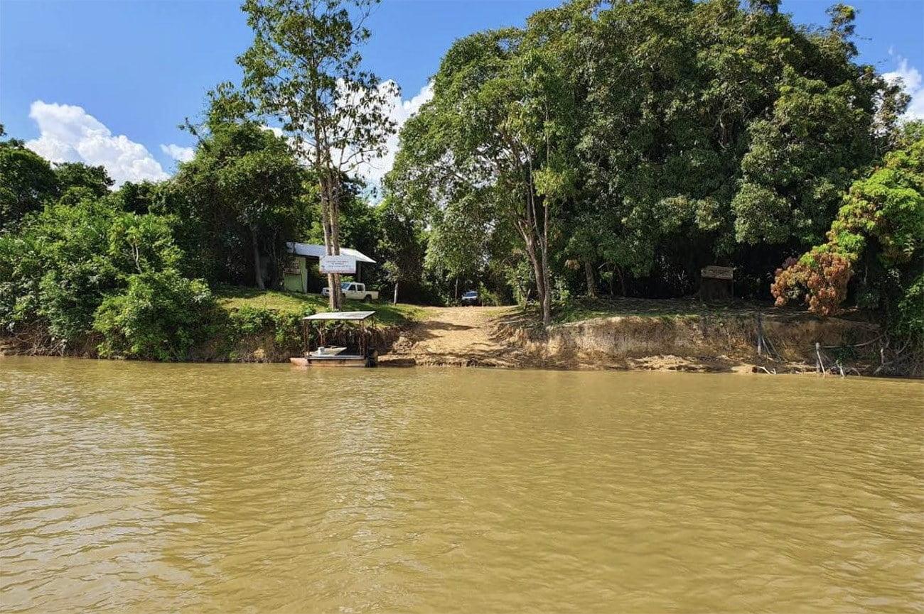 Imagem do rio Uraricoera