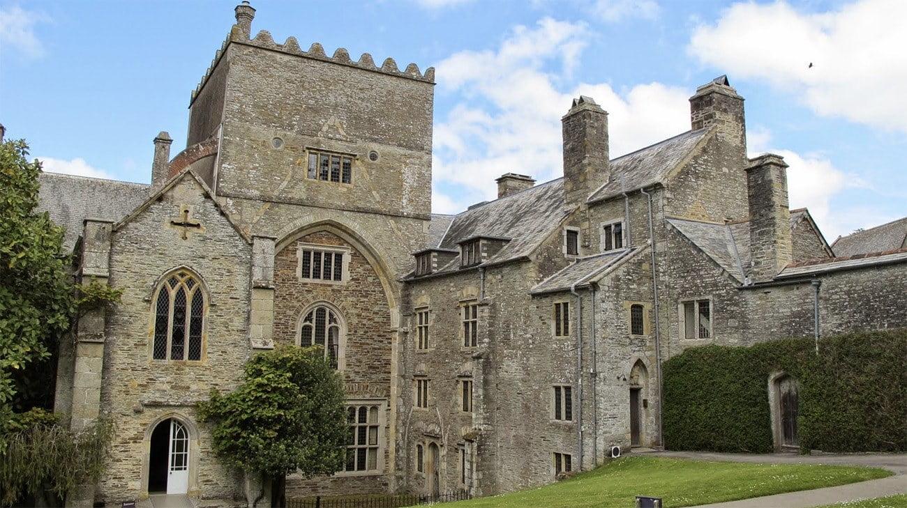 Imagem da abadia de Buckland